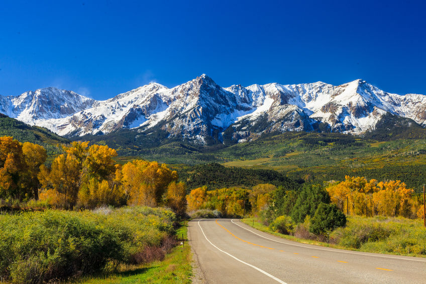 fall season in colorado