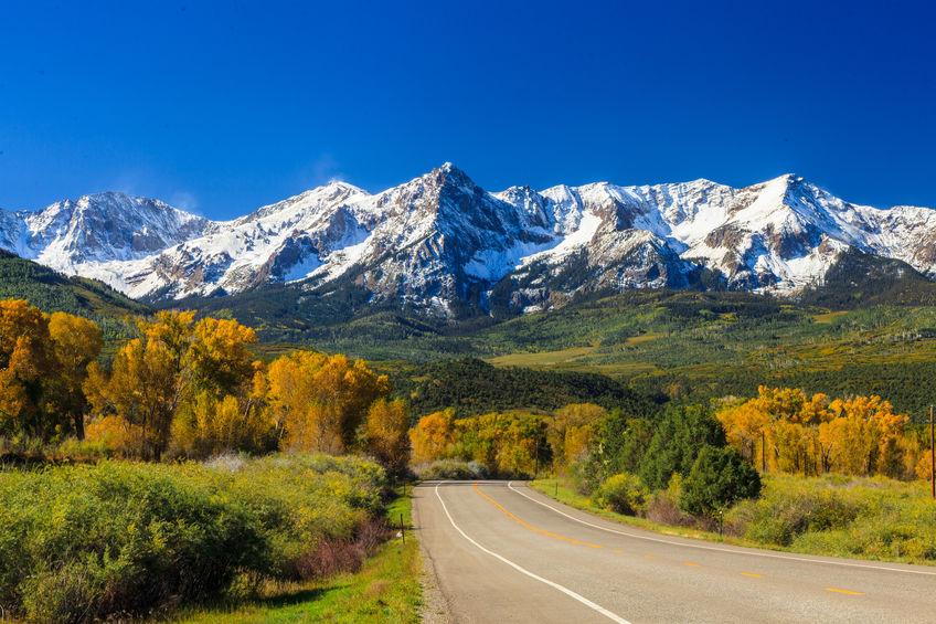 fall season in colorado